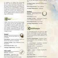 Aide de jeu - Création de personnage